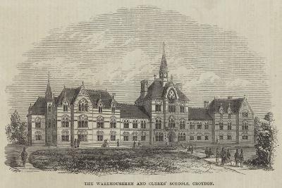 The Warehousemen and Clerks' Schools, Croydon--Giclee Print