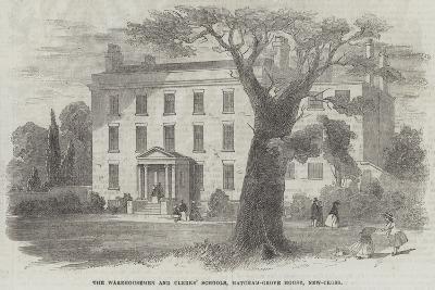 The Warehousemen and Clerks' Schools, Hatcham-Grove House, New-Cross--Giclee Print
