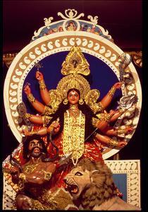 The Warrior Goddess Durga Slaying the Demon Mahesasura