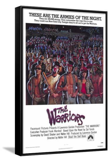 The Warriors--Framed Canvas Print