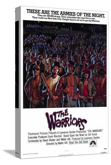 The Warriors--Stretched Canvas Print