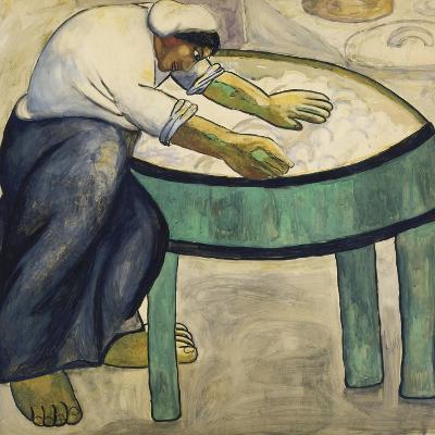 The Washerwoman, 1911-Kasimir Malevich-Giclee Print