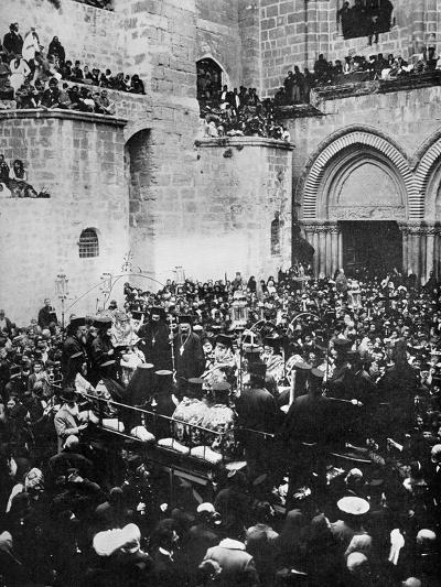 The Washing of the Feet, Church of the Holy Sepulchre, Jerusalem--Giclee Print