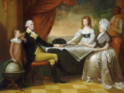 The Washington Family, 1789-1796-Edward Savage-Giclee Print