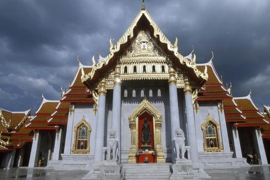 The Wat Benchamabophit or the Marble Temple in Bangkok, Thailand, 20th Century--Giclee Print