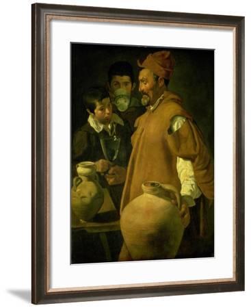 The Water Seller of Seville-Diego Velazquez-Framed Giclee Print