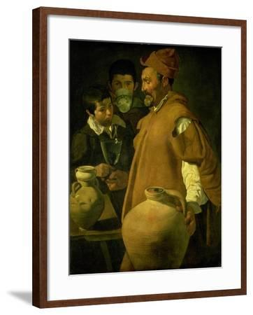 The Water Seller of Seville-Diego Velazquez-Framed Giclee Print