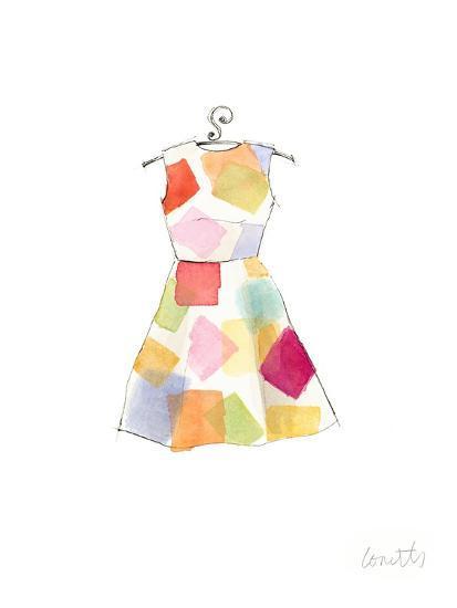 The Watercolor Dresses II-Lanie Loreth-Art Print