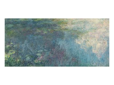 The Waterlilies - the Clouds, 1914-18-Claude Monet-Giclee Print