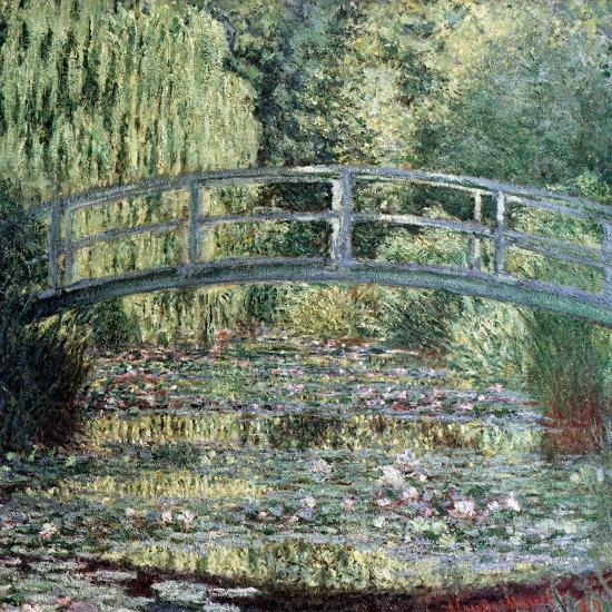 The Waterlily Pond: Green Harmony, 1899-Claude Monet-Giclee Print