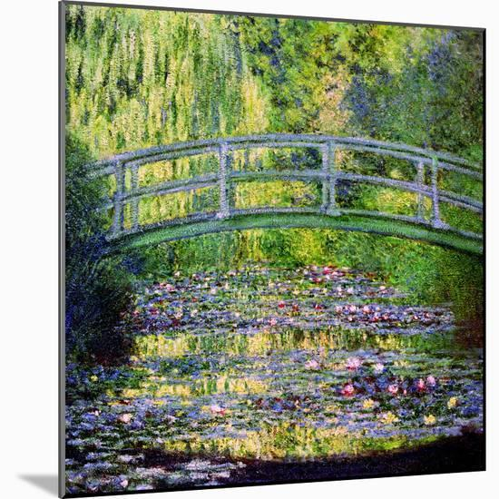 The Waterlily Pond with the Japanese Bridge, 1899-Claude Monet-Mounted Premium Giclee Print