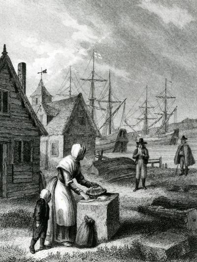 The Watermans Wife, Published in 1835-George Cruikshank-Giclee Print