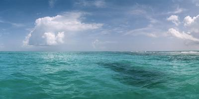 The Waters Off Isla Contoy National Park, Off the Northeast Tip of the Yucatan Peninsula-Macduff Everton-Photographic Print