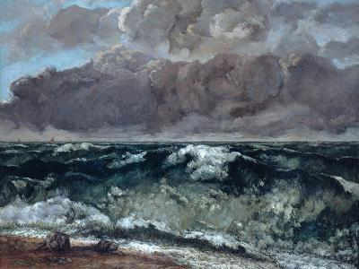 The Wave, 1867-1869-Gustave Courbet-Giclee Print