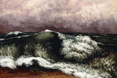 The Wave, 1869-Gustave Courbet-Giclee Print