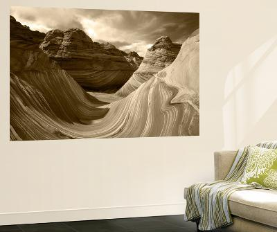 The Wave Formation in Coyote Buttes, Paria Canyon, Arizona, USA-Adam Jones-Giant Art Print