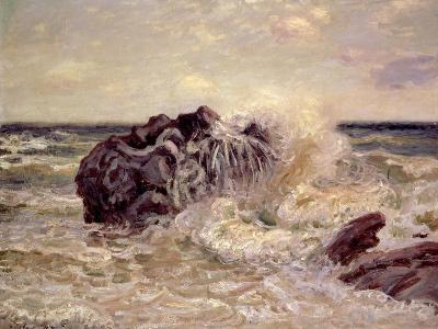 The Wave, Lady's Cove, Langland Bay, 1897-Alfred Sisley-Giclee Print