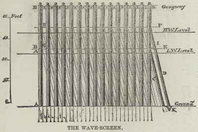 The Wave-Screen--Giclee Print