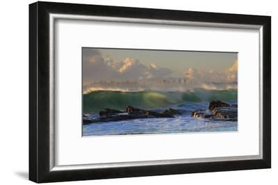 The Wave-Mel Brackstone-Framed Giclee Print