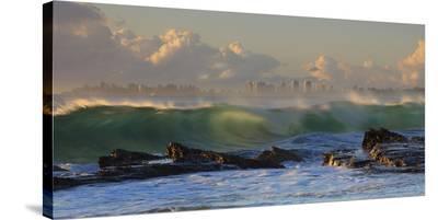 The Wave-Mel Brackstone-Stretched Canvas Print