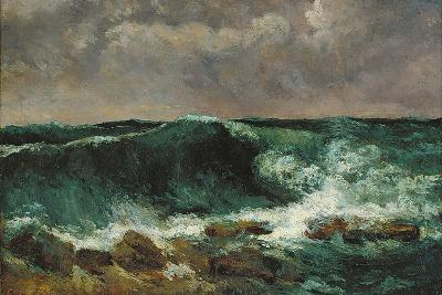 The Wave-Gustave Courbet-Giclee Print