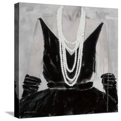 The Way She Looks Tonight-Andrea Stajan-ferkul-Stretched Canvas Print