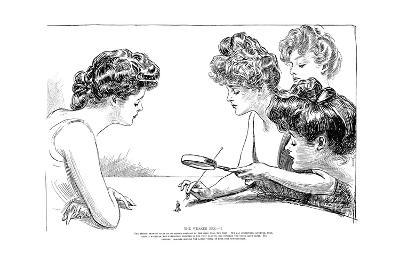 The Weaker Sex II-Charles Dana Gibson-Giclee Print