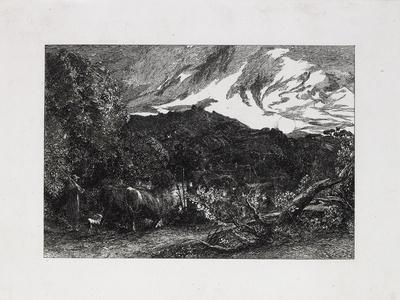 The Weary Ploughman, 1858-Samuel Palmer-Giclee Print