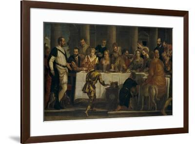 The Wedding at Cana, ca. 1562-Paolo Veronese-Framed Giclee Print