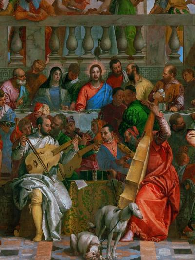 The Wedding at Cana-Paolo Veronese-Giclee Print