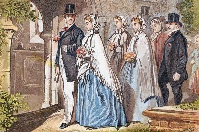 The Wedding Day, C1885--Giclee Print