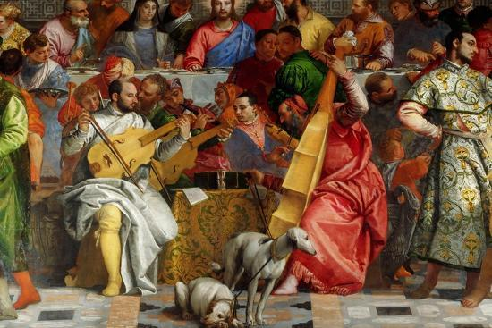 Wedding Feast At Cana.The Wedding Feast At Cana Detail Giclee Print By Paolo Veronese Art Com
