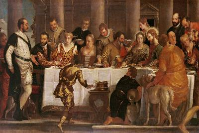 The Wedding Feast at Cana-Veronese-Giclee Print