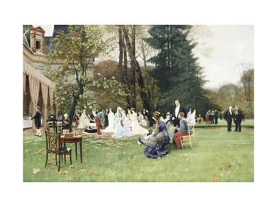 The Wedding, Fontainebleu-Charles Edouard Delort-Giclee Print