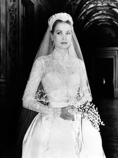 The Wedding in Monaco, Grace Kelly, 1956--Photo