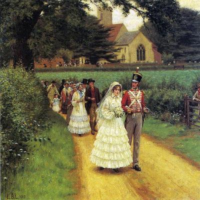 The Wedding March, 1919-Edmund Blair Leighton-Giclee Print