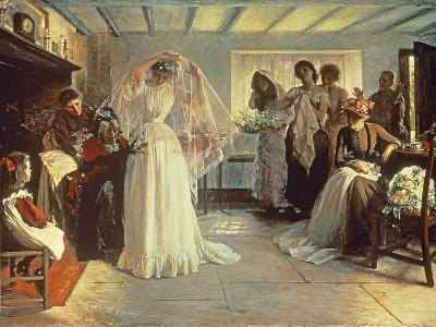The Wedding Morning, 1892-John Henry Frederick Bacon-Giclee Print