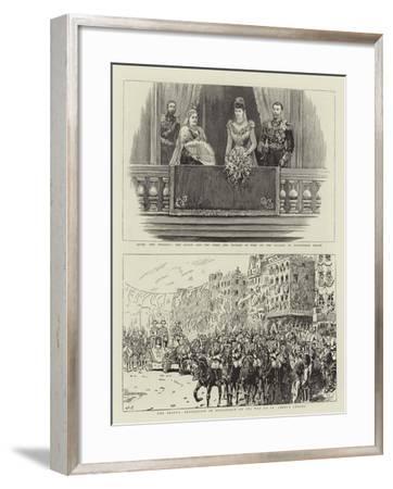 The Wedding of Duke and Duchess of York-John Charlton-Framed Giclee Print