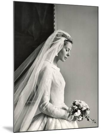 The Wedding of H.R.H the Duke of Kent and Miss Katharine Worsley at Hovingham Hall, North Yorkshire-Cecil Beaton-Mounted Photographic Print