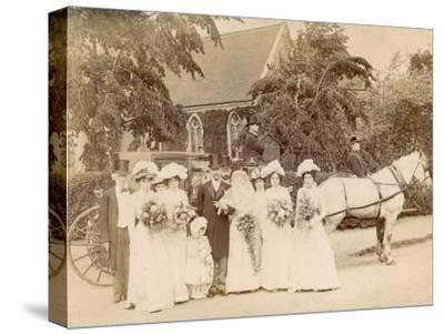 The Wedding of Mr. Edwin Frederick Sage to Clare Weston at St. Stephen's Selly Hill