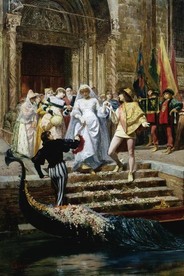 The Wedding-Pietro Gabrini-Giclee Print