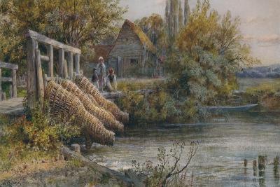 The Weir, c1875-William Stephen Coleman-Giclee Print