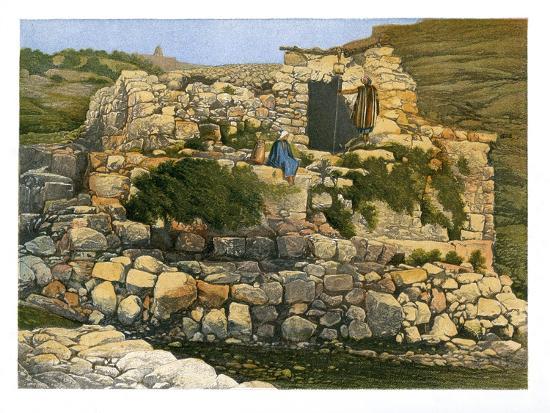 The Well of En-Rogel, Jerusalem, C1870-W Dickens-Giclee Print