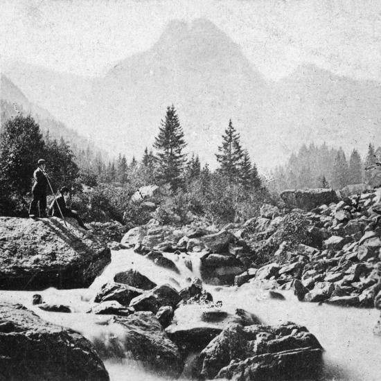 The Wellhorn at Rosenlain, Switzerland, Early 20th Century-Underwood & Underwood-Giclee Print