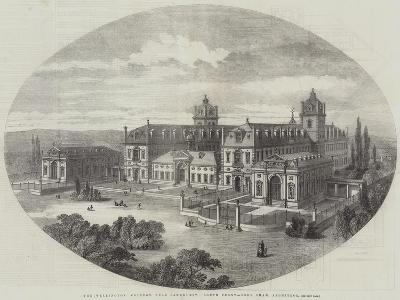 The Wellington College, Near Sandhurst, South Front, John Shaw, Architect--Giclee Print