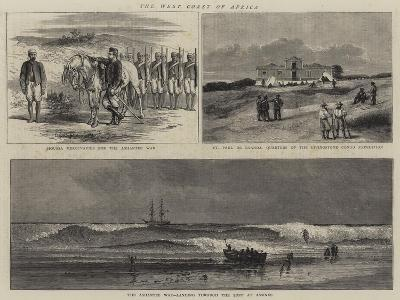 The West Coast of Africa--Giclee Print