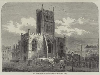 The West Front of Bristol Cathedral--Giclee Print