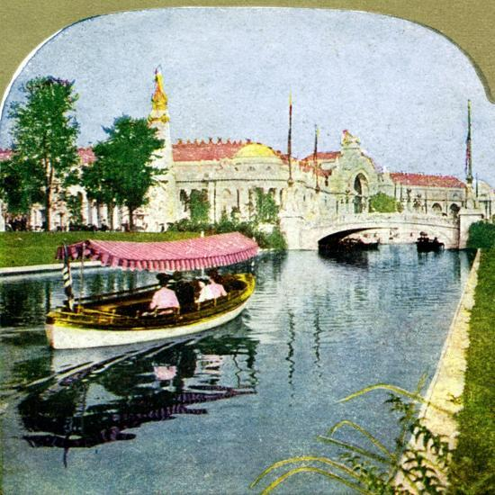 The West Lagoon from the World Fair, St Louis, Missouri, 1904. Artist: Unknown-Unknown-Giclee Print