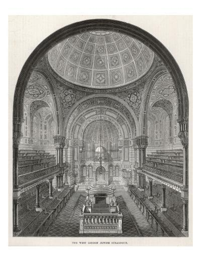 The West London Jewish Synagogue, 1872--Giclee Print