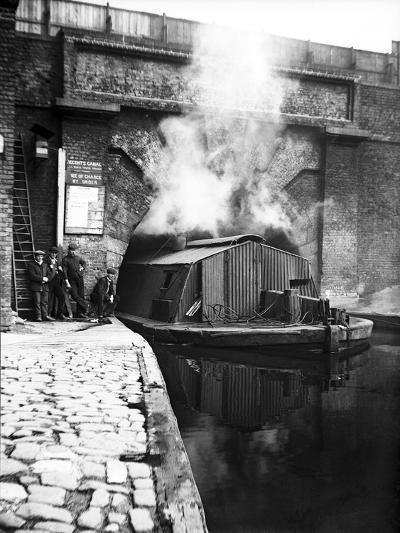 The Western Entrance to Pentonville Tunnel, Regent's Canal, London, C1905--Photographic Print